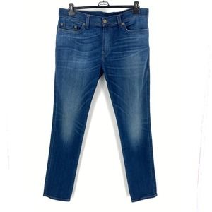 True Religion Rocco Relaxed Skinny Jeans 40